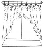 шторы до подоконника